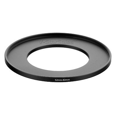52-82mm Step-Up SLR Lens Metal Adapter Ring