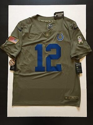 low priced 0d64e 0506b spain nfl nike indianapolis colts 12 andrew luck green ...