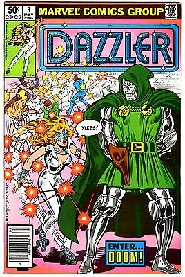 DAZZLER LOT #3 & 4-DR DOOM,5-1st app.THE SHIELD,6,7-HULK SRINGER-a HI/GRDS