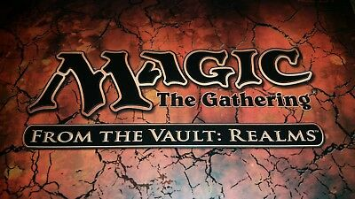 Choose your From the Vault: Realms Foil Card NM/M MTG Magic the Gathering