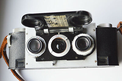 Stereo realist camera with case clean & works