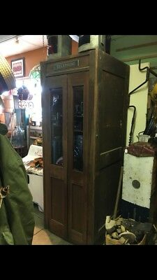 Antique Western Electric phone Booth