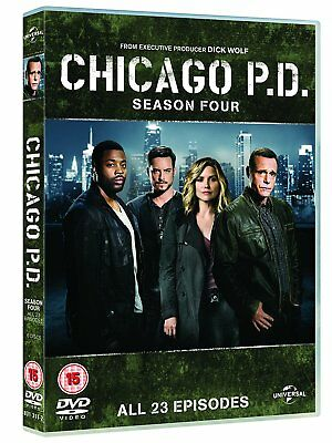 Chicago P.D Season 4 DVD Complete 4th Series New & Sealed Fast Post Region 2 UK