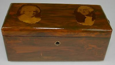 Vintage Lane Salesman Sample Mini Cedar Chest Wood Box Trinket Jewelry