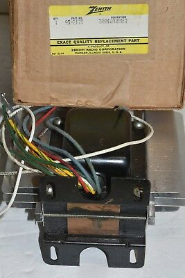 ONE  Vintage Zenith Power LARGE Transformer NOS 95-2179 WITH SPECS