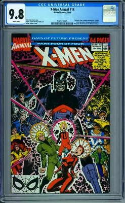 Uncanny X-Men Annual #14 CGC 9.8 White Pages 1st Appearance of Gambit Cameo