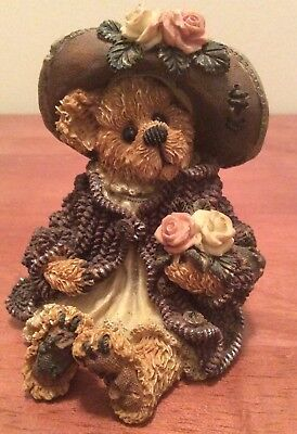 "1999 Boyds Bears ""Mrs. Tuttle...Stop & Smell the Roses"" # 228315"