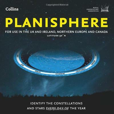 Planisphere: Latitude 50°N - for use in the UK and Ireland, Northern Europe and
