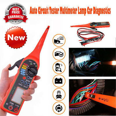 Electrical Auto Circuit Tester Multimeter Lamp Probe Car Power Diagnostic Tool
