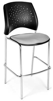 Upholstered Cafe Height Stool in Putty [ID 3611640]