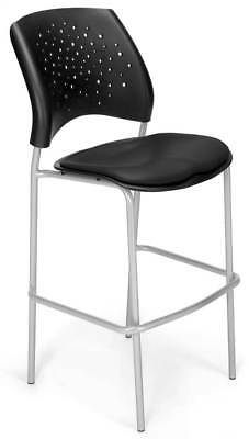 Stackable Cafe Height Stool in Black [ID 3611671]