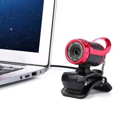 12 Megapixel HD Camera USB Web Cam 360° MIC Clip-on for Computer Laptop PC NEW
