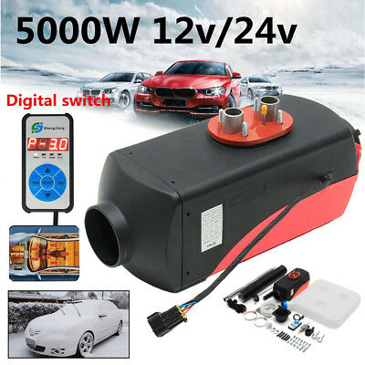 12V 5000W diesel Air Fuel Heater PLANAR Set 5KW for Car Trucks CAN Boats Bus