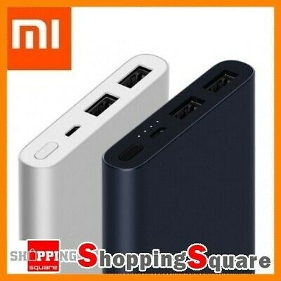 2018 New Xiaomi 10000mAh Power Bank 2 Dual USB Quick Charge 3.0 Portable Charger