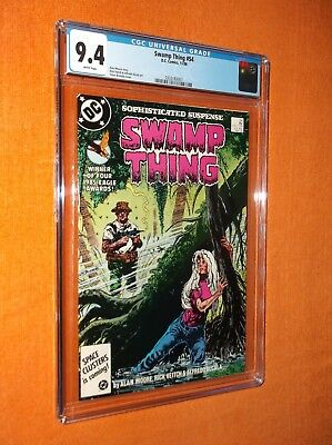 """SWAMP THING #54 CGC 9.4 {formerly """"Saga Of The""""} - Nice, sharp-looking copy!!!"""