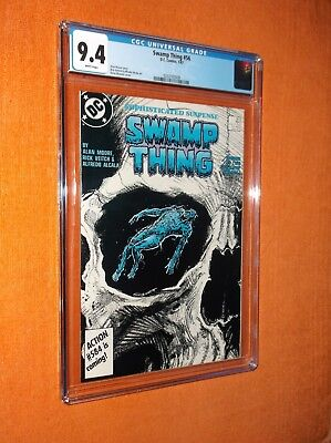 """SWAMP THING #56 CGC 9.4 {formerly """"Saga Of The""""} - Sharp collectible copy!!!"""