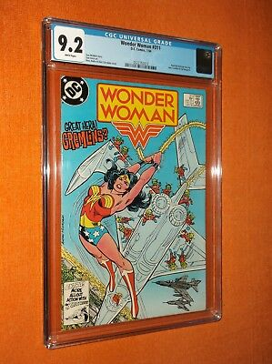 WONDER WOMAN #311 CGC 9.2 {Huntress backup story} - Sharp-looking copy!!!
