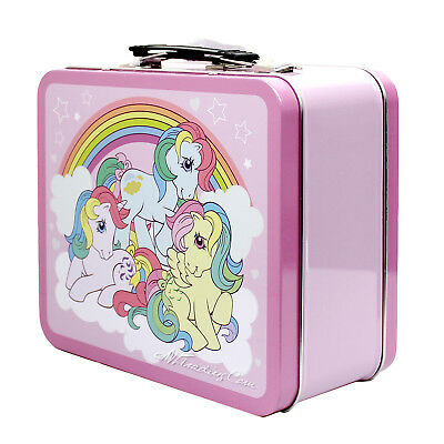 NEW Thermos Metal My Little Pony Pink TIN Lunch BOX Collector Classic Collection