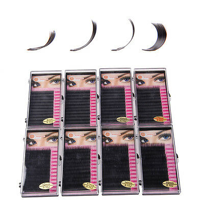 3D 0.07mm Volume Individual Blink Tray Lash C D Curl False Eyelash Extension hi
