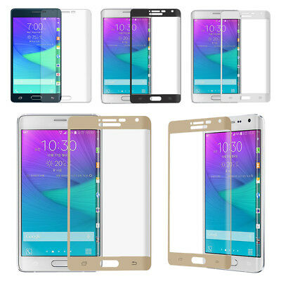 3D Full Cover Temper Glass/PET Screen Protector For Samsung Galaxy Note Edge CM4