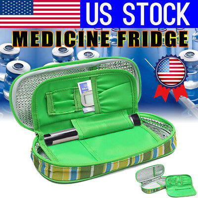 USA Portable Medicine Diabetic Insulin Cooling Pouch Ice Cooler Bag Travel Case