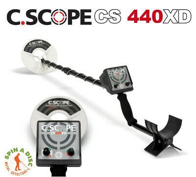 C.Scope 440XD Metal Detector Machine Only CS440XD