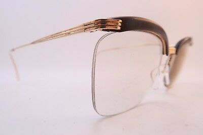 Vintage 50s gold filled Nylor eyeglasses frames D. Or Laminé size 52-19 France