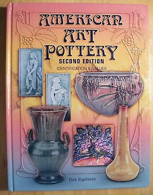 Vintage Art Deco Pottery $$$ id Price Value Guide Collector Book