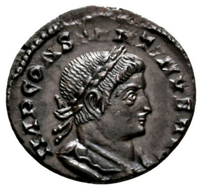 CONSTANTINE THE GREAT (316 AD) Exceptionally Rare Follis. Lyons #MA 9574