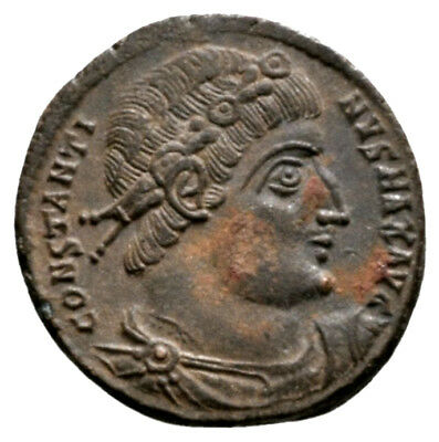 CONSTANTINE THE GREAT (330-335 AD) Ae3 Follis. Antioch #MB 10024