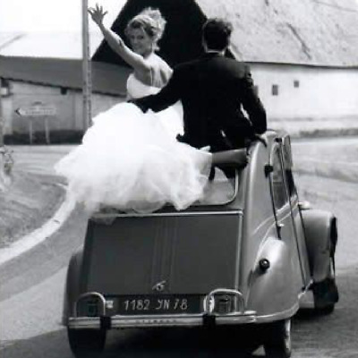 Wedding Car 2cv hire - From £100 day