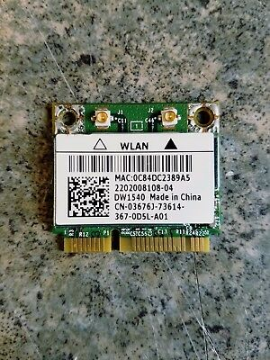 Genuine Dell Latitude E6530 E6430 E6330 Wifi Wireless Card 3676J 03676J