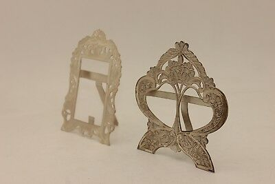 Perfect Old Silver Handmade Amazing For Picture Double Frame