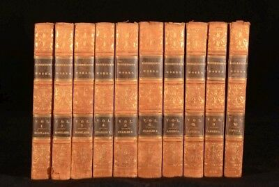 1821 10vol The Works of William Robertson History of England Scotland India