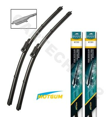 "Ford Transit Courier 2014+ Front Flat Aero Windscreen  Wiper Blades  28"" 15"" (C)"