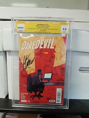 Daredevil #15 Signed by Mark Wald 2015 EGS 9.8