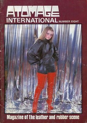 ATOMAGE RUBBERIST VINTAGE MAGAZINE #8 - Rubber PVC Latex Fashion