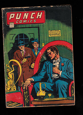 Punch Comics 14 color touch tear seals 12 pages glue Miller
