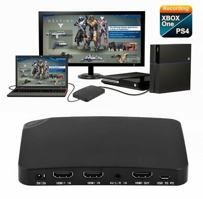 4K Live Streaming 1080P HDMI Video Capture Box Recorder for CVR HDMI Port Drive