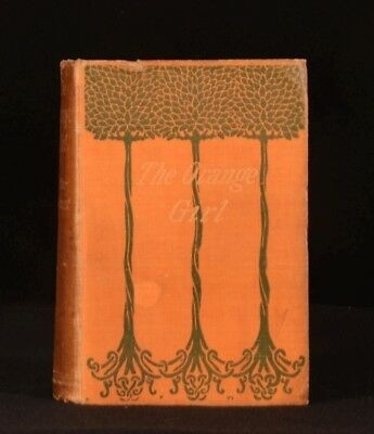 1899 The Orange Girl Walter Besant Second Edition Scarce Besant's Own Copy
