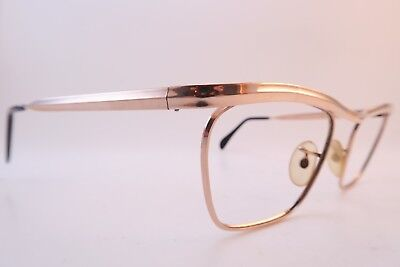 Vintage gold filled eyeglasses frames Algha 20 size 46-20 made in England