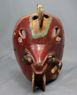 Chicken Red Masks with snake from Guatemala