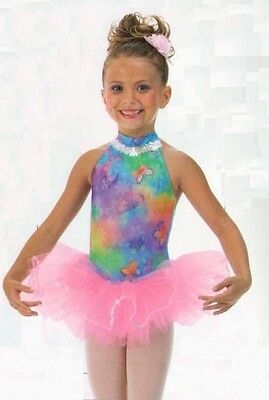 Butterfly Kisses #1 Dance Costume Ballet Tutu Ice Skating Clearance Adult Large