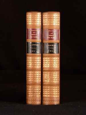 1868 2 Vols. Charles Darwin The Variation Of Animals And Plants First Edition