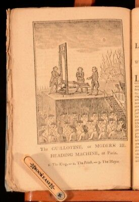 1793 A Genuine Narrative of the Proceedings at Paris Johnson Very Scarce