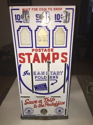 Vintage Postage Stamp Dispenser Shipman MFG Co., Los Angeles, CA Machine