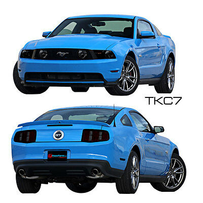 Mustang Complete Front And Rear Light Tint Kit GT 2010-2012