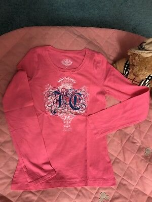 traumhaftes T-Shirt Juicy Couture Gr.10Jahre Rosa Neu