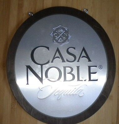 Casa Noble Tequila Double Sided Sign with Chain NIB