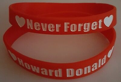 Howard Donald Never Forget Wristband